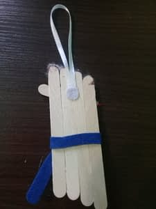 игрушка на елку из палочек от мороженого (7)