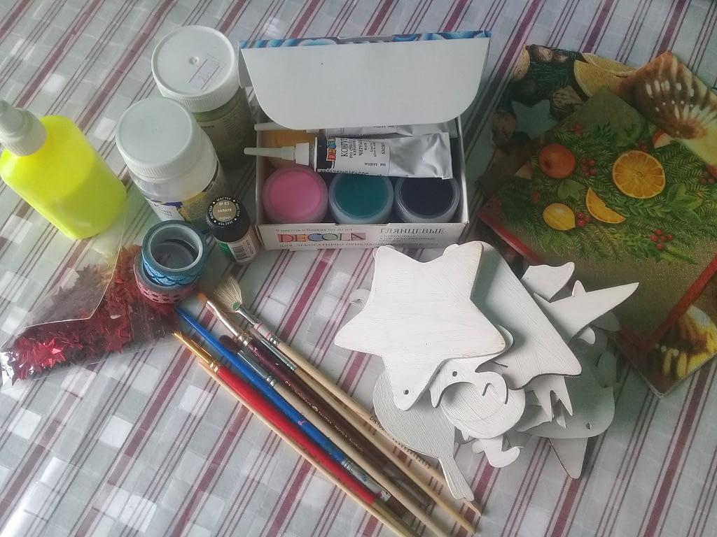 материалы для елочной игрушки своими руками