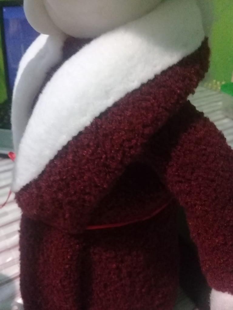 воротник для шубы деда мороза